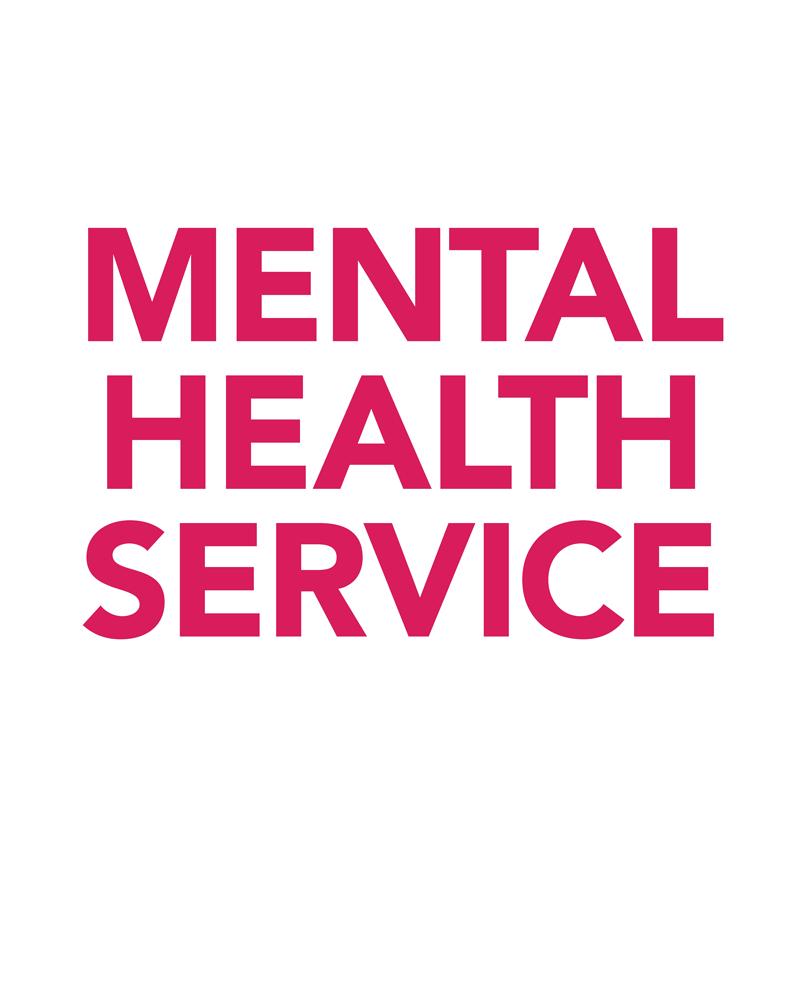 The Mental Health Service Awards logo