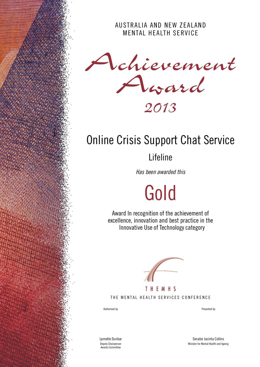 Online Crisis Support Chat Service Themhs Learning Network Inc