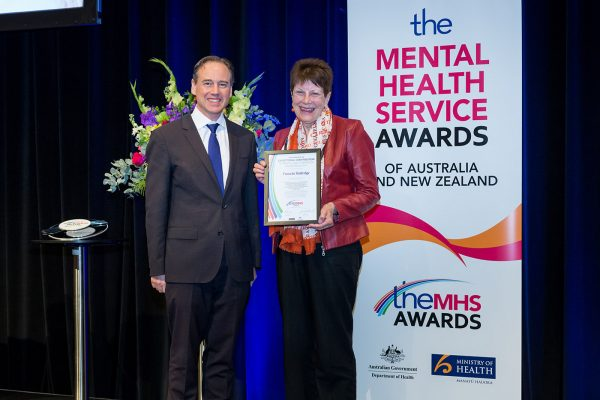 Pamela Rutledge receives TheMHS Award