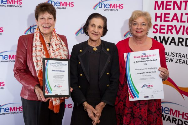 Exceptional Contribution to Mental Health Award