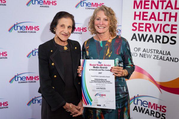 Media Award at the TheMHS Mental Health Service Awards