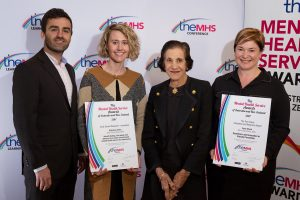 Research Award at the TheMHS Mental Health Awards