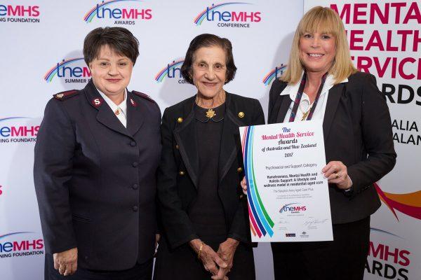 Service Awards at the Mental Health Awards